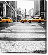 Penn Station Yellow Taxi Canvas Print