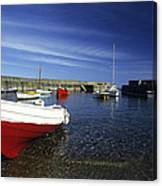 Pennan Harbour Scotland Canvas Print