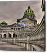 Pennsylvania State Capital Canvas Print