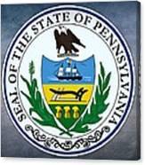 Pennsylvania State Seal Canvas Print