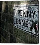 Penny Lane Canvas Print