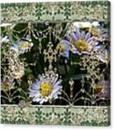 Penny Postcard Rococo Canvas Print