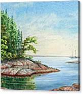 Penobscot Inlet Canvas Print