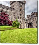 Castle Grounds Canvas Print