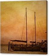 Pensacola Harbor Canvas Print
