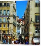 Pensao Geres - Lisbon 2 Canvas Print