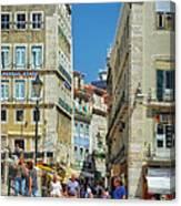 Pensao Geres - Lisbon Canvas Print