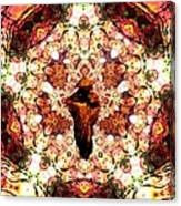 Pentagrammathanatos Severe Beauty Canvas Print