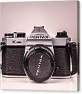 Pentax Film Canvas Print
