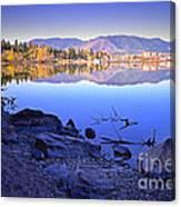 Penticton Reflections Canvas Print