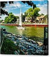 Pentwater Channel Michigan Canvas Print