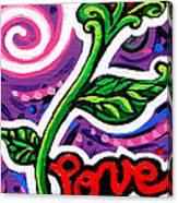 Pepe Le Pew Loves Le Chat Canvas Print