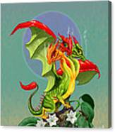 Peppers Dragon Canvas Print