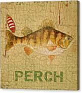 Perch On Burlap Canvas Print