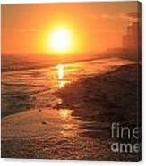 Perdido Key Sunburst Canvas Print