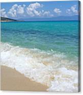Perfect Beach Canvas Print