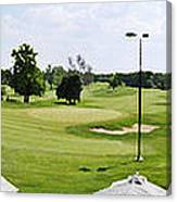 Perfect Day For Golf Canvas Print