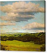 Perfect Valley Canvas Print