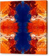 Perfectly Balanced Philosophies Abstract Pattern Art By Omaste Witkowski Canvas Print