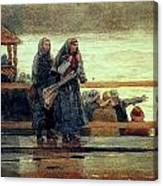 Perils Of The Sea 1881 Canvas Print