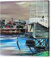 Perkins Cove Maine Canvas Print