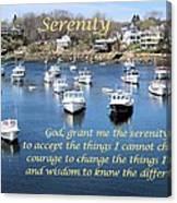 Perkins Cove Serenity Canvas Print
