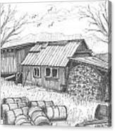 Perkins Maple Sugar House Canvas Print