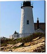 Permaquid Point Lighthouse Canvas Print