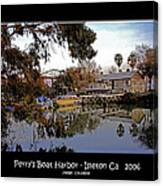 Perrys Boat Harbor 2006 Canvas Print