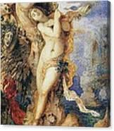 Perseus And Andromeda Canvas Print