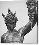 Perseus With Head Of Medusa Canvas Print