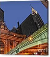 Pershing Square Canvas Print
