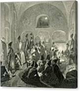 Persian Mosque At Yerevan, Armenia Canvas Print