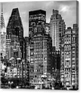 Perspectives Bw Canvas Print