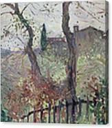 Perugia  Umbria Canvas Print