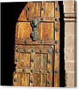 Peruvian Door Decor 17 Canvas Print