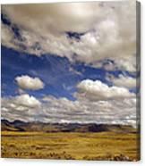Peruvian High Plains Canvas Print