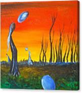 Pervasive Longings Canvas Print