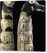 Pet Mummies, 1st Century Canvas Print
