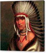 Petalesharro. Generous Chief  Pawnee Canvas Print