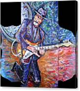 Peter Parcek Plays The Blues Canvas Print