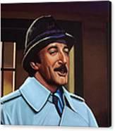 Peter Sellers As Inspector Clouseau  Canvas Print