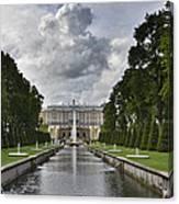 Peterhof Fountains Canvas Print