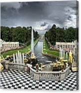 Peterhof Palace Canvas Print