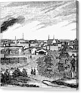 Petersburg, Virginia, 1856 Canvas Print