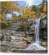 Peterskill Falls Canvas Print