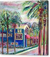 Pete's Bar In Neptune Beach Canvas Print