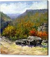 Petit Jean View From Mather Lodge Canvas Print
