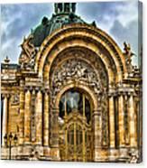 Petit Palais - Paris France Canvas Print