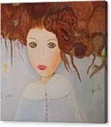 Petite Fee De Plouzezec Canvas Print